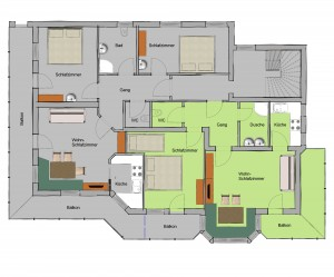 Floor plan Arenablick